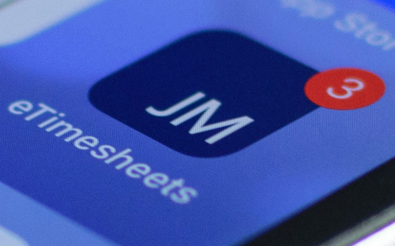 JacobsMassey Launches iPhone and Android eTimesheets App